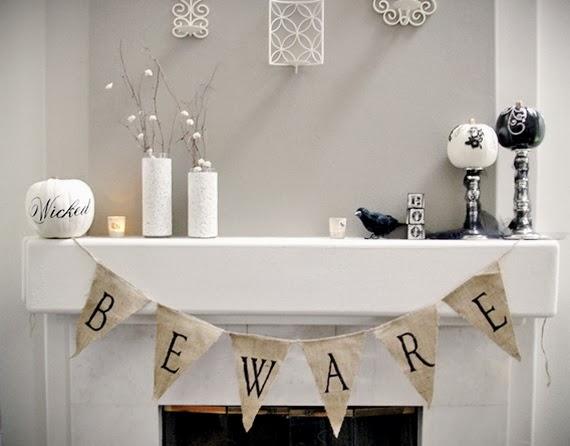 Feestdagen stijlvolle halloween decoratie voor in en om het huis stijlvol styling woonblog - Decoratie industriele huis ...