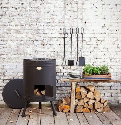 Wonen & seizoenen   Winter barbecue met de feestdagen