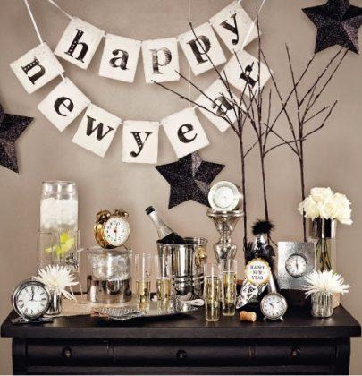 Feestdagen | Oud & Nieuw special; feestelijke decoratie tips voor de jaarwisseling!