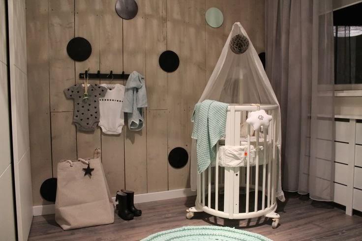 Stoer Behang Slaapkamer.Stoer Behang Babykamer Heeft Behang En Voor Een Hippe Kinderkamer