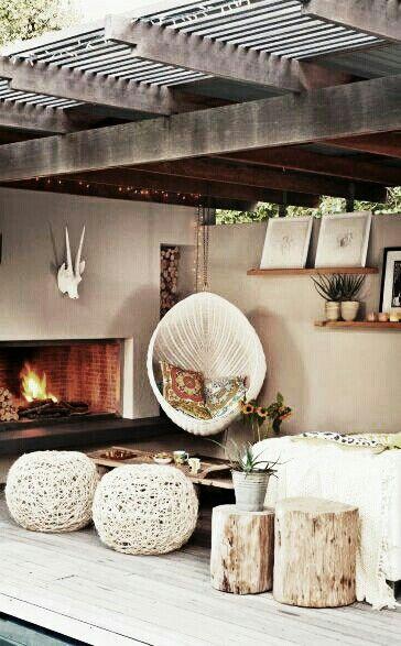 Tuin inspiratie tuintrends tuin inrichten en accessoires stijlvol styling woonblog - Interieur van een veranda ...