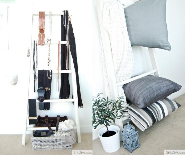 20170414&185738_Witte Ladder Badkamer ~ Houten Ladder Decoratie  Interieurtrends de decoratieve houten ladder