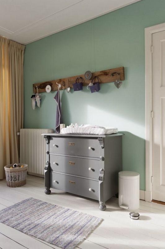 Interieur kids mintgroen babykamer kinderkamer inspiratie deel 1 stijlvol styling - Kamer kleur idee ...