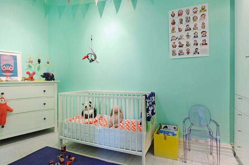 Interieur kids mintgroen babykamer kinderkamer inspiratie deel 1 stijlvol styling - Verf babykamer ...