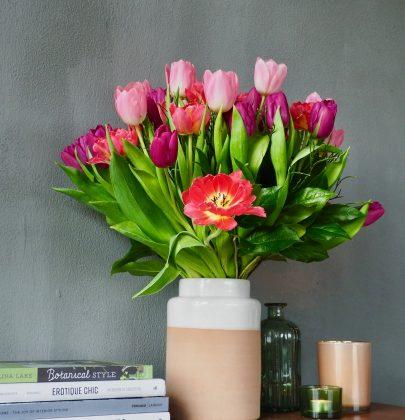 Interieur   'Hollandse' tulpen in jouw interieur