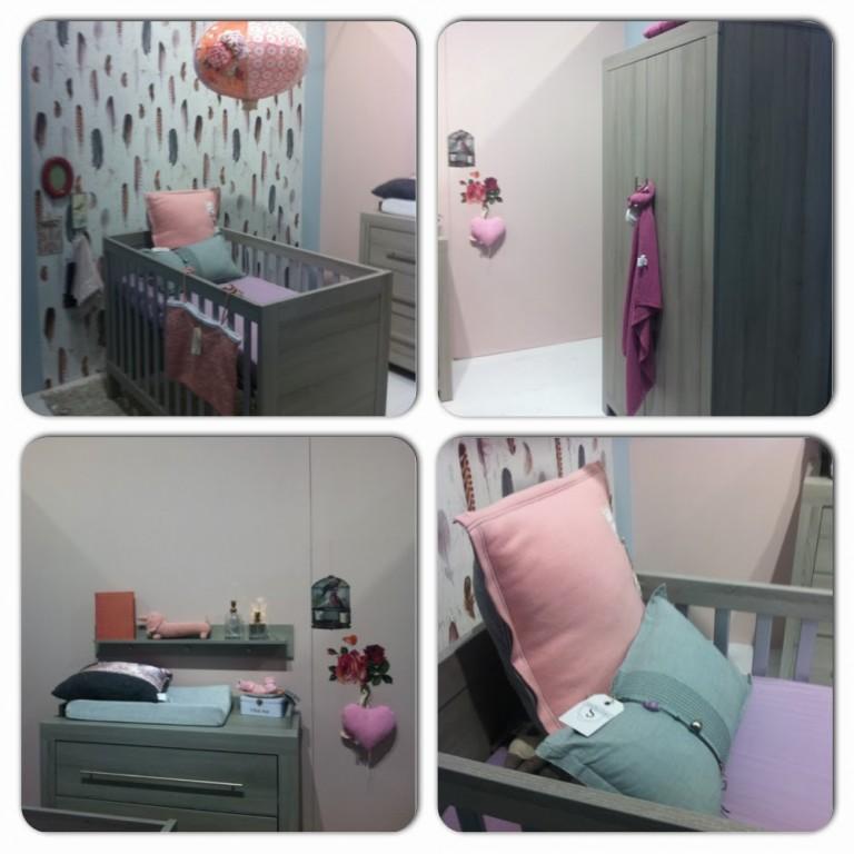 Interieur kids trendy babykamer inspiratie stijlvol styling woonblog - Kinderkamer grijs en roze ...