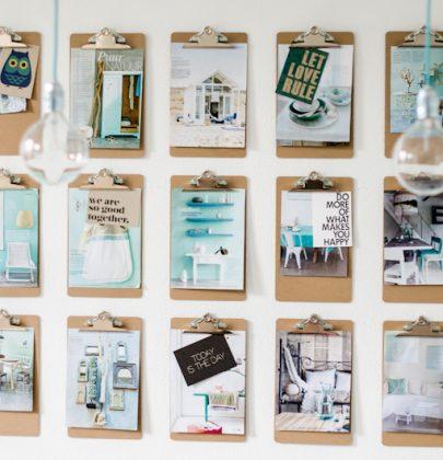 DIY | Klemborden aan de wand