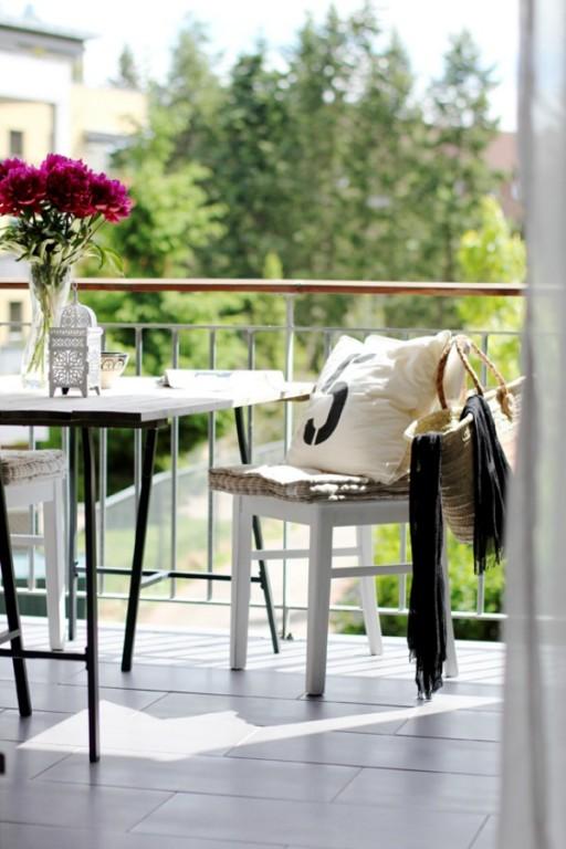 Buitenleven inrichten van jouw balkon terras voor het ultieme lentegevoel stijlvol styling for Decoratie voor terras