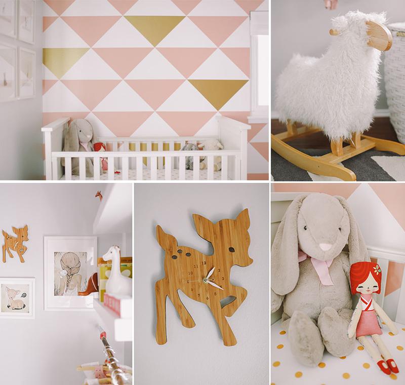 Interieur kids hippe babykamer inspiratie in roze wit stijlvol styling woonblog - Roze kinderkamer ...