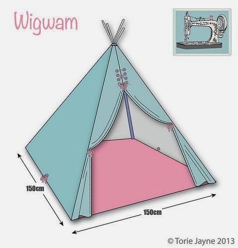 Interieur+DIY | Wigwam of Tipi in de kinderkamer trend ...