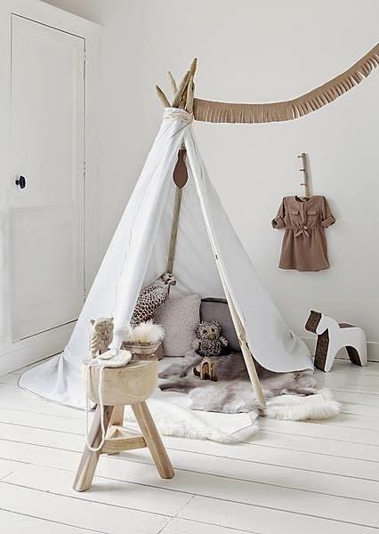 interieur diy wigwam of tipi in de kinderkamer trend stijlvol styling woonblog. Black Bedroom Furniture Sets. Home Design Ideas