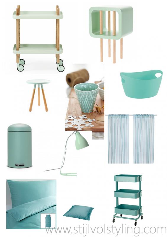 Interieur kleur mintgroen in jouw interieur incl for Interieur inspiratie kleur