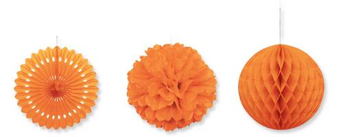 Feest styling oranje stijlvolle idee n voor jouw for Ballonnen versiering zelf maken