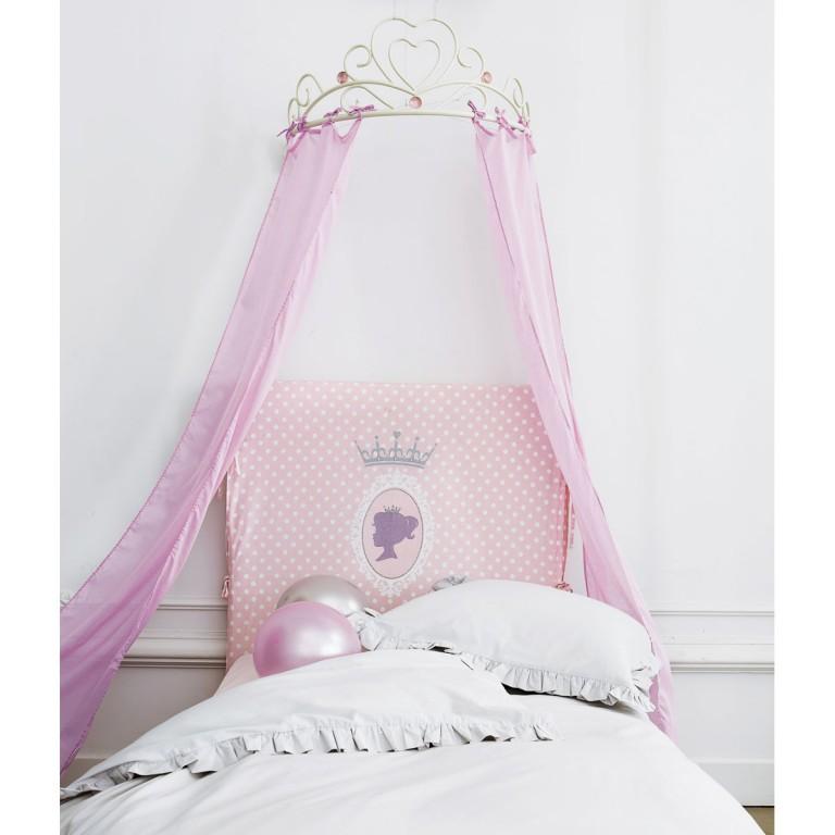 Interieur kids baby en kinderkamer inspiratie voor kleine prinsessen - Ciel de lit maison du monde ...