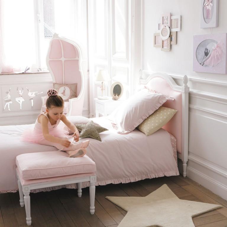 Interieur kids baby en kinderkamer inspiratie voor kleine prinsessen balletdanseressen - Slaapkamer meisje jaar oud ...