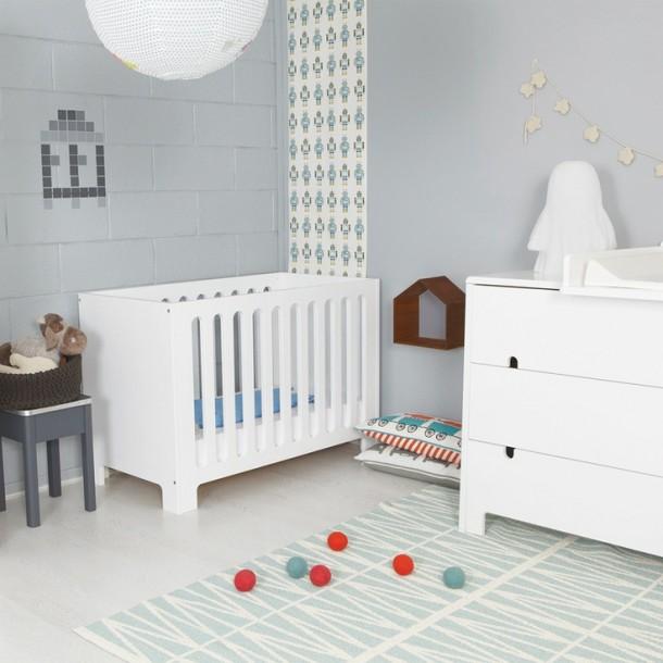 Interieur kids babykamer en kinderkamer in grijs en wit stijlvol styling woonblog - Deco toilet grijs en wit ...