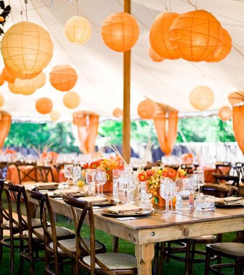 Feest Styling Oranje Stijlvolle Tuin Versiering Stijlvol Woonblog