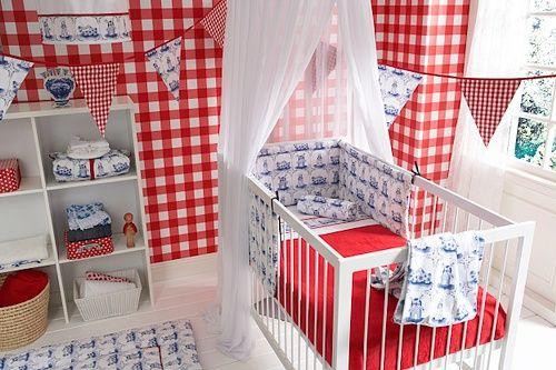babykamer rood blauw ~ lactate for ., Deco ideeën