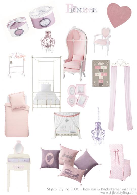 Interieur kids baby en kinderkamer inspiratie voor kleine prinsessen balletdanseressen - Gordijn voor baby kamer ...
