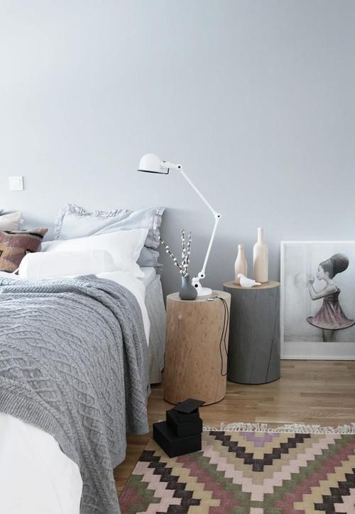 Slaapkamer Beige Grijs : Gray Bedroom