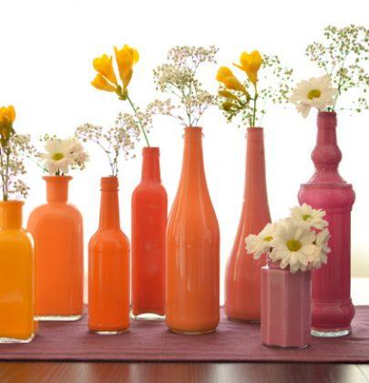 DIY | Flessen en Vazen schilderen