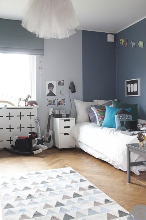 Interieur kids babykamer en kinderkamer in grijs en wit stijlvol styling woonblog - Kamer grijs kid ...