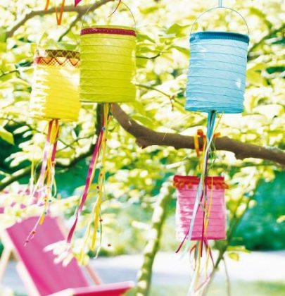 Tuin inspiratie | Zomer tuinfeest decoratie