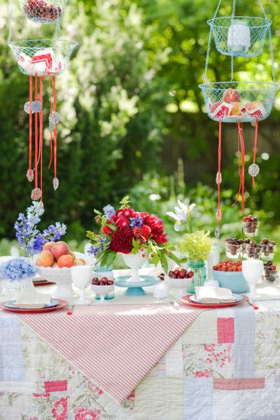 Tuin inspiratie zomer tuinfeest decoratie stijlvol for Decoratie feest
