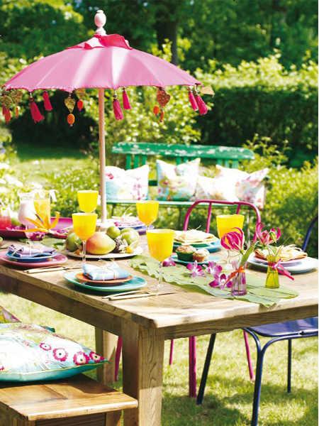 tuin inspiratie zomer tuinfeest decoratie stijlvol