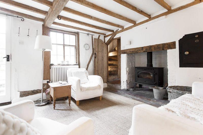 Binnenkijken landelijk wonen in een engelse cottage stijlvol styling woonblog - Engelse stijl slaapkamer ...