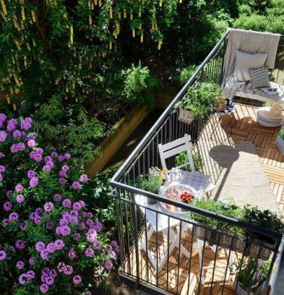 Tuin inspiratie   Balkon inspiratie voor een klein balkon