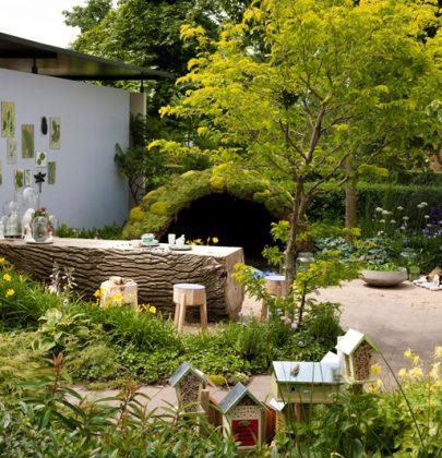 Tuin inspiratie   Tuintrend de Biotope garden, ideale tuin voor natuurliefhebbers