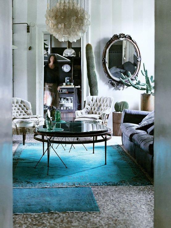 kleur amp interieur turquoise interieur styling � stijlvol