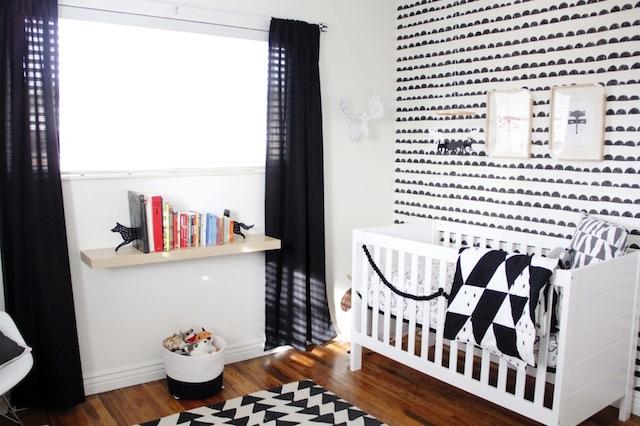 Interieur & kids  Zwart + Wit babykamer en kinderkamer • Stijlvol ...