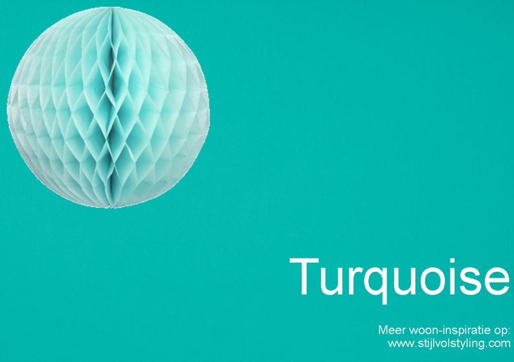 Kleur u0026 Interieur : Turquoise interieur styling u2022 Stijlvol Styling ...