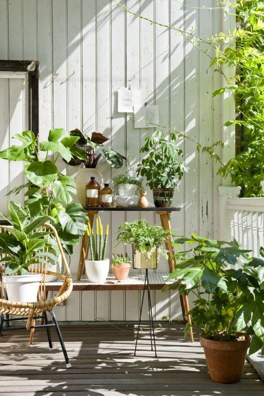 Tuin inspiratie low budget tuin en balkon tips stijlvol styling woonblog - Idee deco kleine woonkamer ...