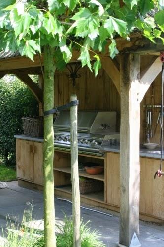 Tuin inspiratie buitenkeuken inspiratie voor jouw tuin of terras stijlvol styling woonblog - Terras tuin decoratie ...