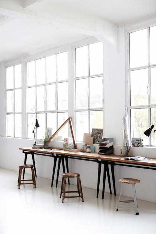 Interieur schragen onder jouw bureau of tafel stijlvol for House doctor bureau