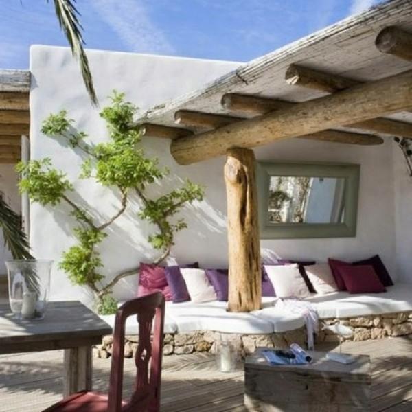 Tuin inspiratie tuin inrichten in ibiza stijl stijlvol styling woonblog - Slaapkamer marokko ...