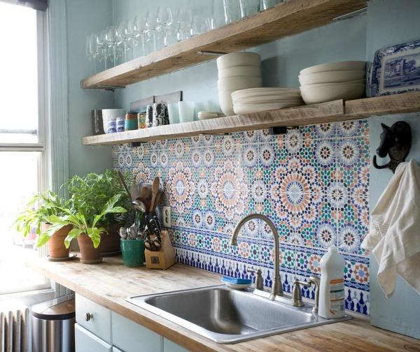 Interieur portugese en marokkaanse tegels stijlvol styling woonblog - Stijl land keuken chique ...