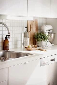 Interieur jouw keuken praktisch en stijlvol inrichten stijlvol styling woonblog - Decoratie kleine keukens ...