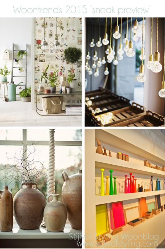 Groen wonen een modern winterstuk maken stijlvol for Interieur trends 2015