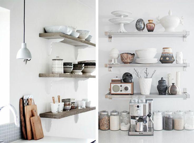 stijlvol en gezellig te maken! Keuken decoratie - met o.a. wandplanken ...