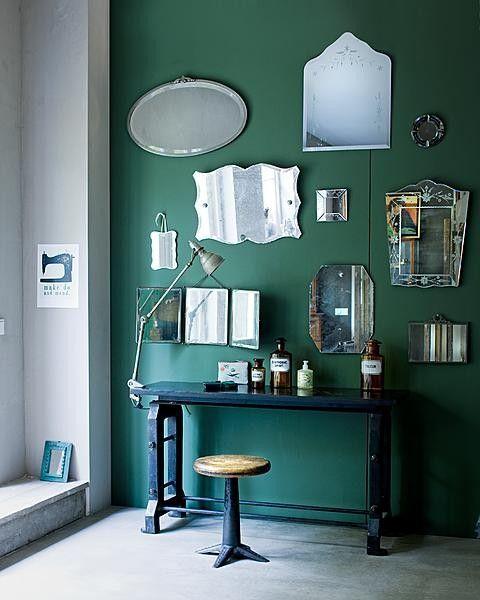 Engels Groene Keuken : Kleur & Interieur De kleur groen in jouw interieur