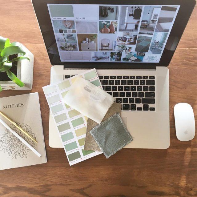 Working on 2 new interiorprojects    interiordesigner interieurontwerphellip