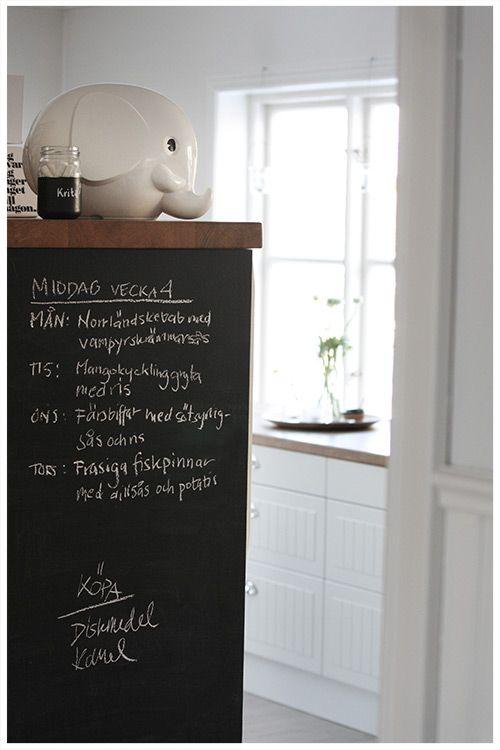 Keuken Schilderen Met Krijtverf : Interieur & DIY Creatief met krijtverf – www.stijlvolstyling.com #