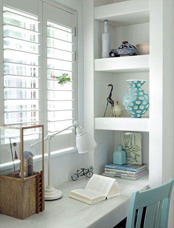 Interieur nis in de muur stijlvol styling woonblog - Deco kamer kind gemengd ...