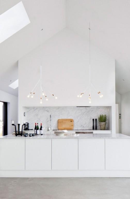 Interieur nis in de muur stijlvol styling woonblog - Deco keuken chique platteland ...