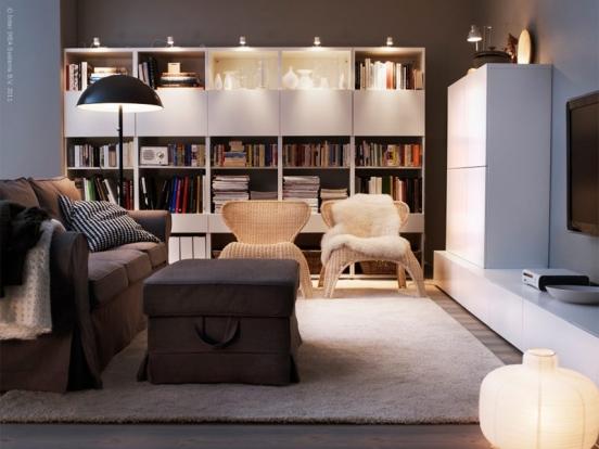 Interieur 10 tips voor het inrichten van een klein huis of appartement stijlvol styling - Ontwikkel een kleine woonkamer ...
