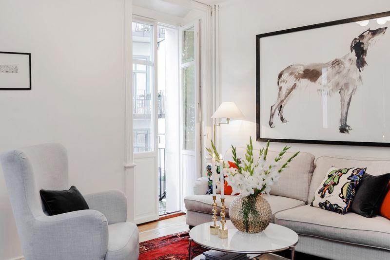 Interieur 10 tips voor het inrichten van een klein huis of appartement stijlvol styling - Inrichten van een kleine volwassene slaapkamer ...